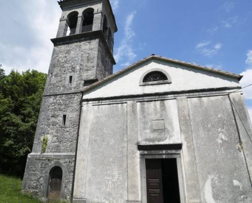 Esterno chiesetta votiva di San Nicolò Vescovo a Pegliano